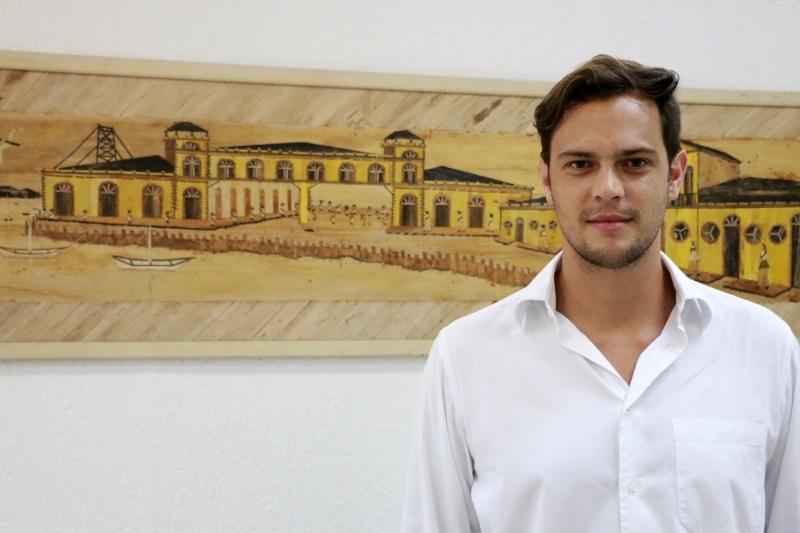 Gustavo Utrabo, sócio-arquiteto do escritório Aleph Zero