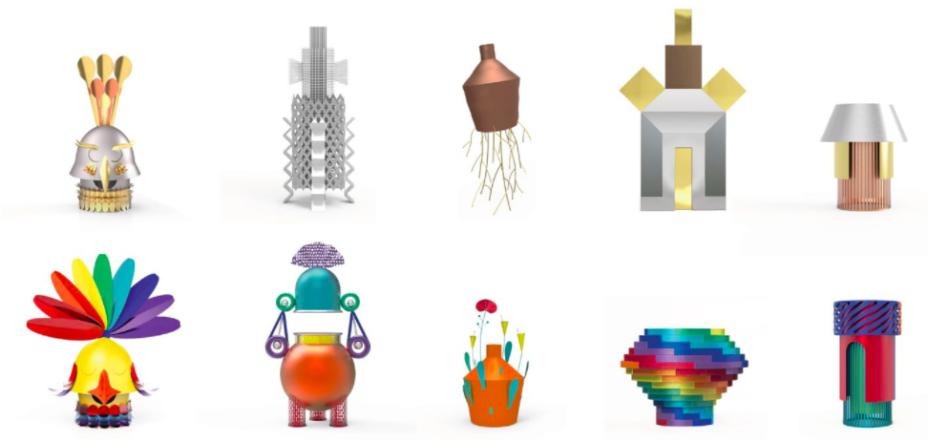 Raw & Rainbow:A<span>Altreforme, em parceria com a Rossana Orlandi Gallery,</span> celebra seus dez anos com uma coleção de dez objetos criados pelos designers Antonio Aricò, Serena Confalonieri, Marcantonio, Alessandro Zambelli e Zanellato / Bortotto.