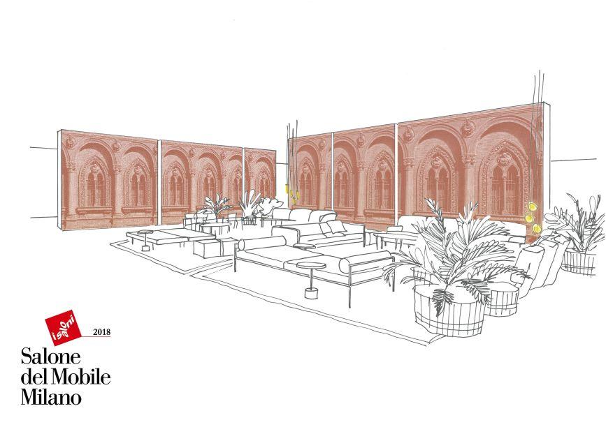 Durante Salone del Mobile Milano, a Padova apresenta o Salão Vermelho Cosmit, um ponto de encontro para jornalistas , designers, arquitetos e convidados.O projeto Red Lounge, assinado pela Lissoni Associati, propõe um lounge acolhedor dividido em pequenas áreas mobiliadas.Entre os produtos que serão lançados no espaço, encontraremos o sofá Landscape projetado por Piero Lissoni; que acrescenta uma nota de personalidade ao ambiente, com neutralidade, encaixando-se desde o estilo clássico ao contemporâneo.