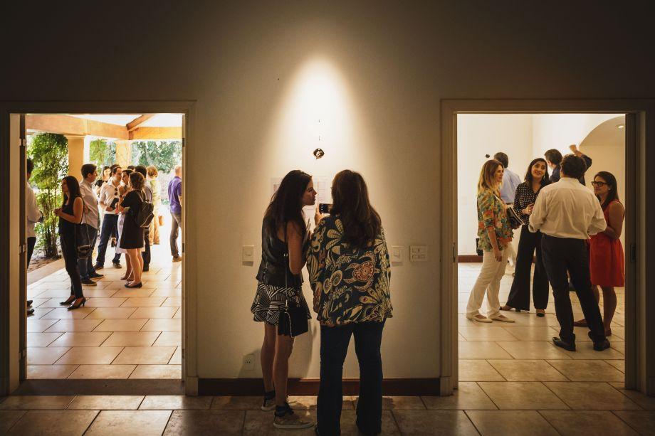 RIBEIRÃO PRETO, SP - 10/04/2018 - OPEN HOUSE CASACOR.Evento de lançamento e Open House da CasaCor Ribeirão Preto 2018.A sede da Mostra na Rua Garibaldi, 2760, no bairro Alto da Boa Vista em Ribeirão Preto (SP), foi aberta a profissionais, jornalistas e fornecedores. Maurício Siqueira, organizador da Mostra em Ribeirão e Gaziela de Caroli, gerente de franquias da Casacor, deram as boas vindas aos convidados.Foto: Marcos Limonti/TRIELE.