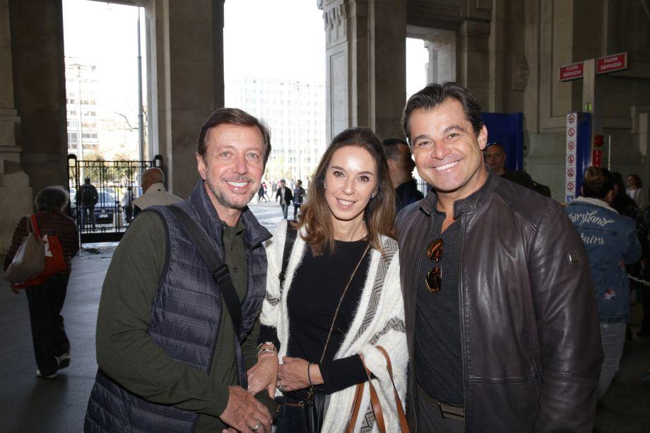 Nando Grabowsky, Esther Schattan e Paulo Bacchi