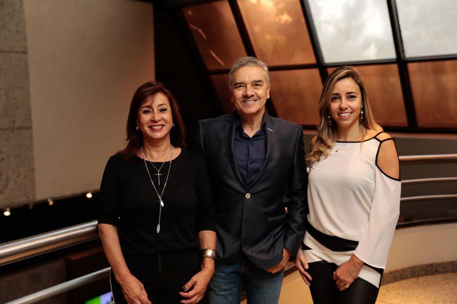 Vera, Valdecir e Karina Capaverde