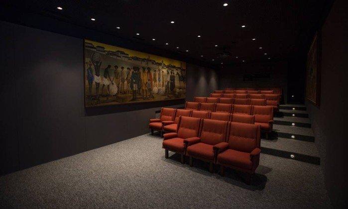 <span>A sala de cinema terá oficias e cursos sobre temas relacionados à arte.</span><span></span>