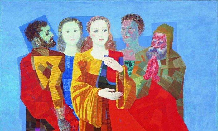 """<span>""""Santa Cecília"""", de 1954, é um das telas de Portinari que está na exposição.</span><span></span>"""