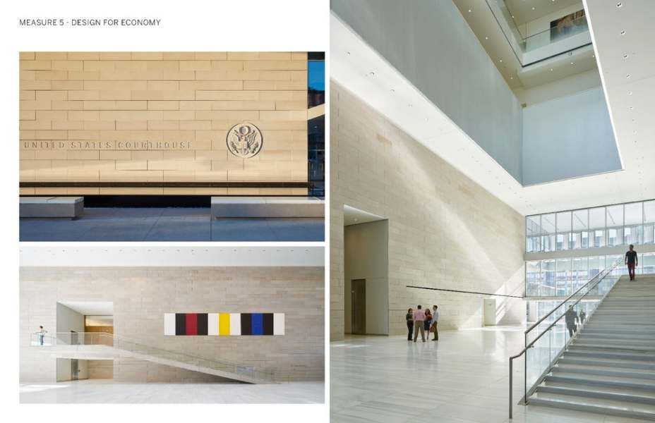 """O conceito do design é de criar uma construção que otimize o uso de energia, a função, a segurança e o custo em um prédio que """"flutua"""" sobre o chão."""