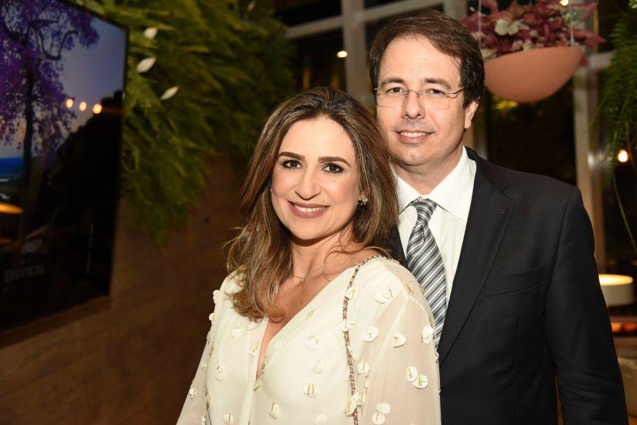 Ana Paula Jansen e Frank Guimarães Vaz