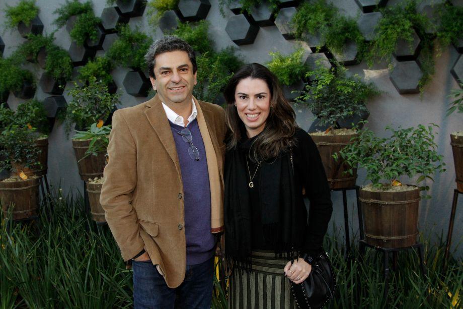 Roberto Riscala e Graziella Castanheira