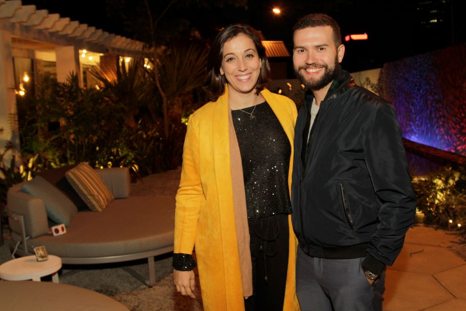 Felipe Siracci e Luciana Pitombo