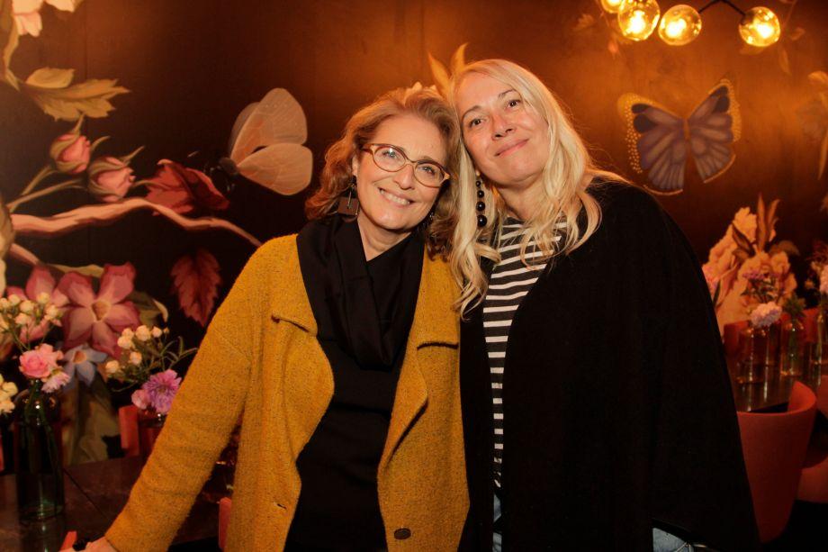 Eliana Sanches e Denise Gustavsen