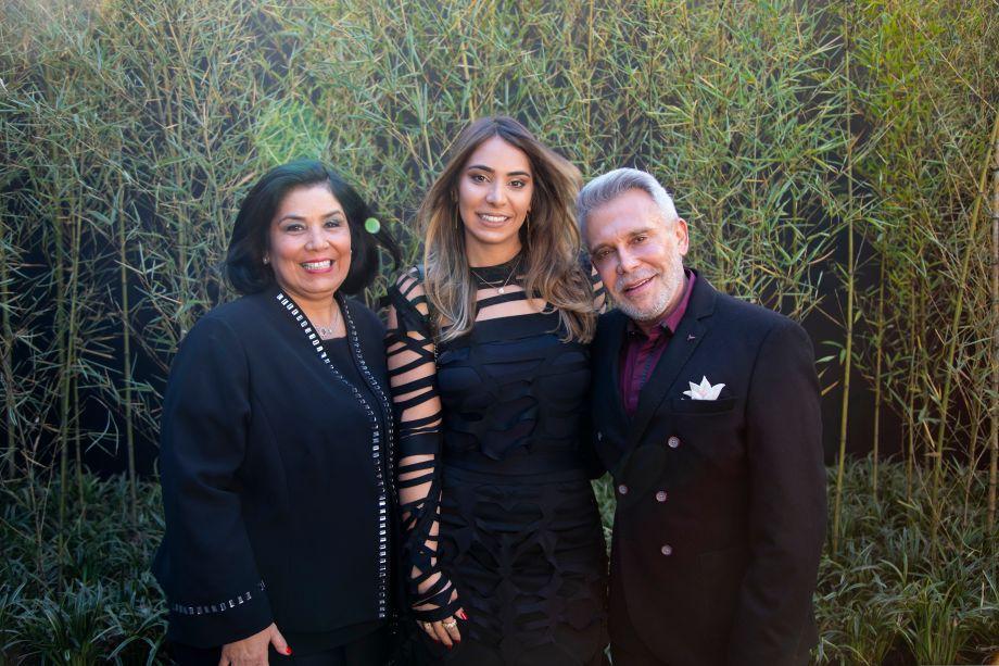Fernanda Dunelli, Patrícia Hagobian e Leo Shehtman