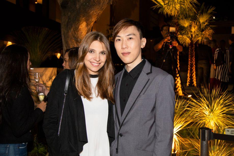 Marcela Zonetti e Rodrigo Yashioka