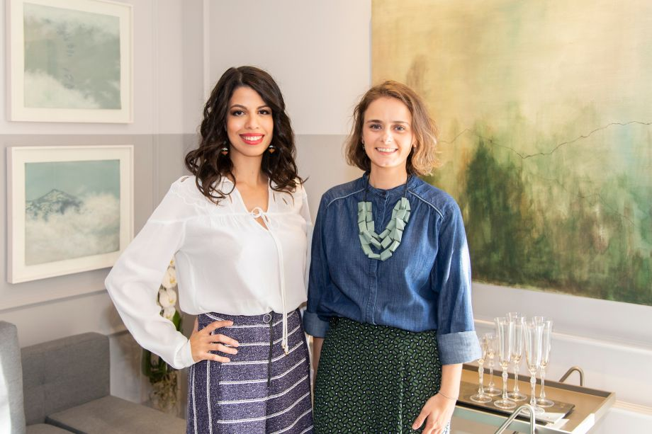 Ana Paula Gaspar e Fernanda Panetta