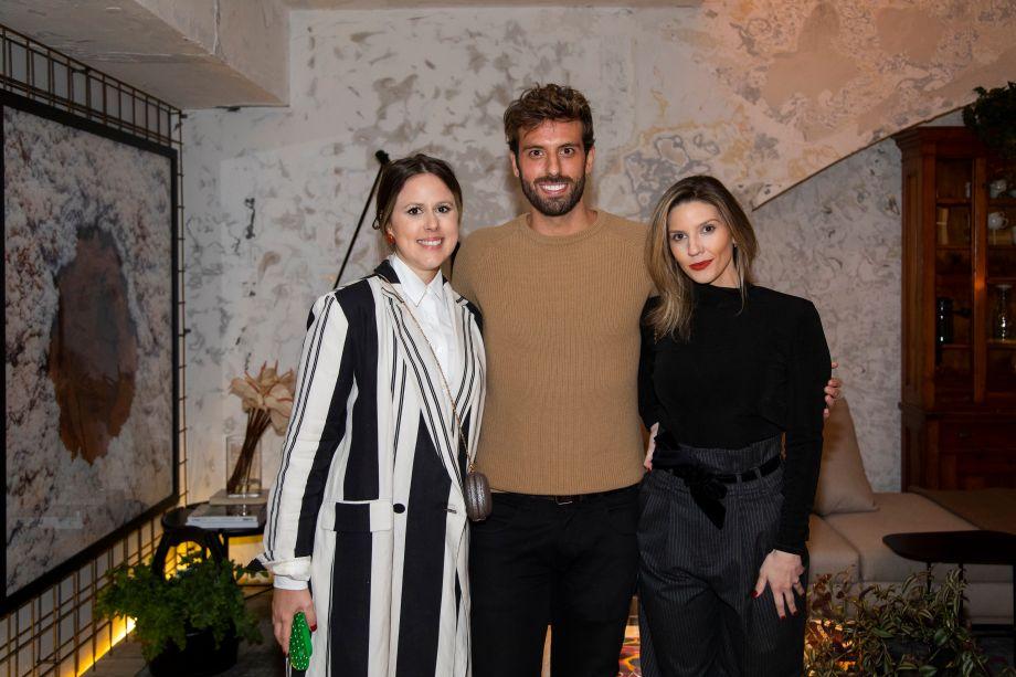 Kika Mattos, André Bacalov e Marcela Penteado
