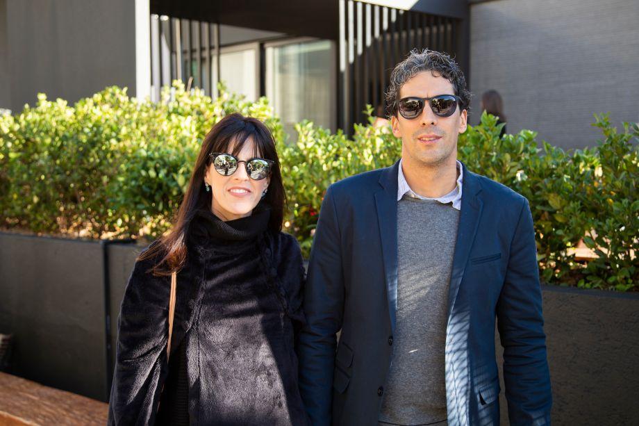 Thalita Vitachi e Armando Salvador