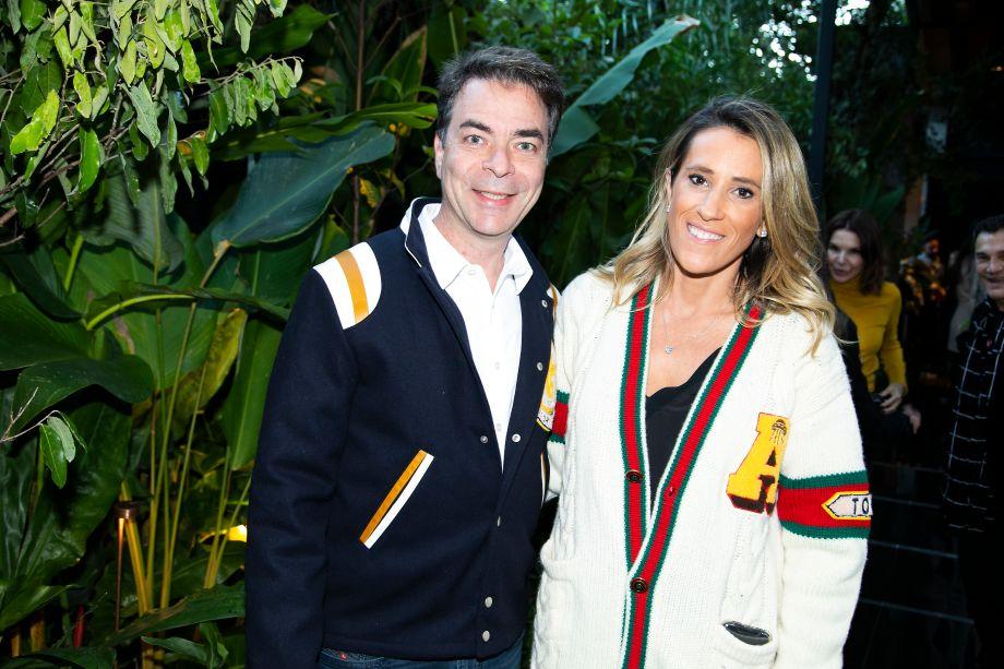 Marcelo Felmanas e Karla Felmanas