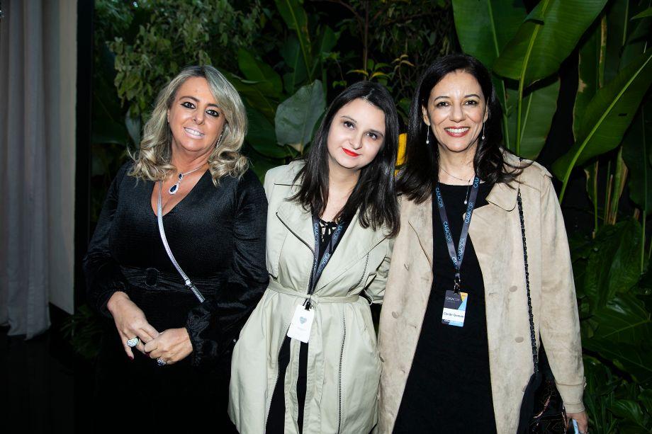 Ana Porto, Carla Delgado e Cleide Gomes