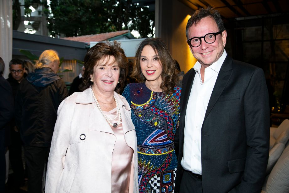 Judith Rosenhek, Esther Schatan e Murilo Shatan