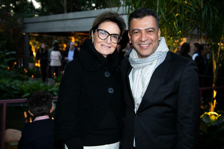 Cristina Ferraz e Pedro Ariel