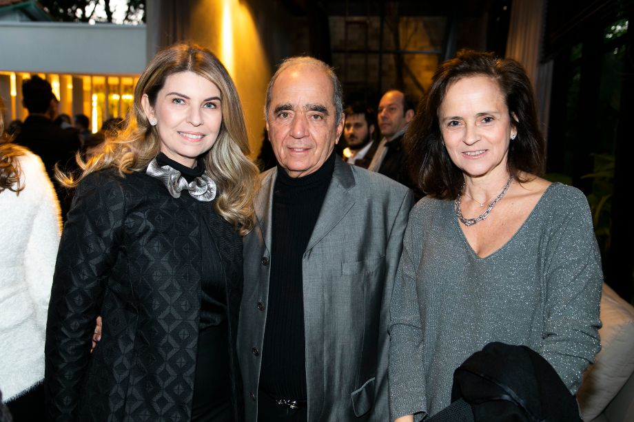 Sandra Moura, Roberto Cavalcanti e Patrícia Quentel