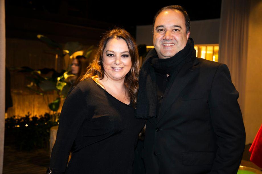 Carina Dale e Pedro Torres