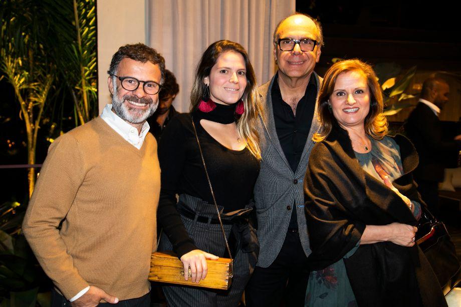 Beto Figueiredo, Paloma, Katia e Arnaldo Danemberg