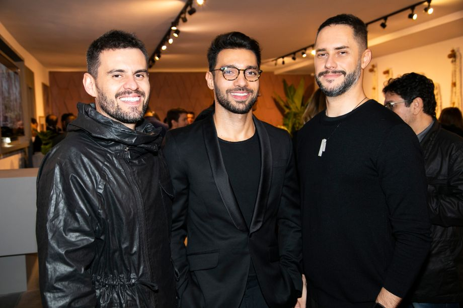 Salvio Junior, Nildo Jose e Moacir Schimitt