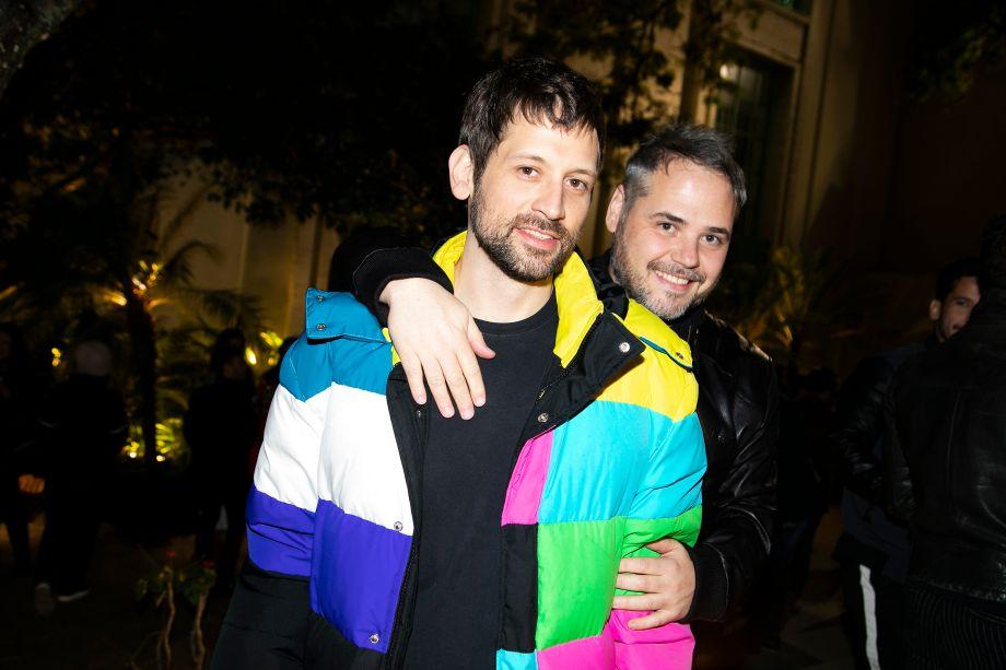 Andre Rodrigues e Alex Colontonio