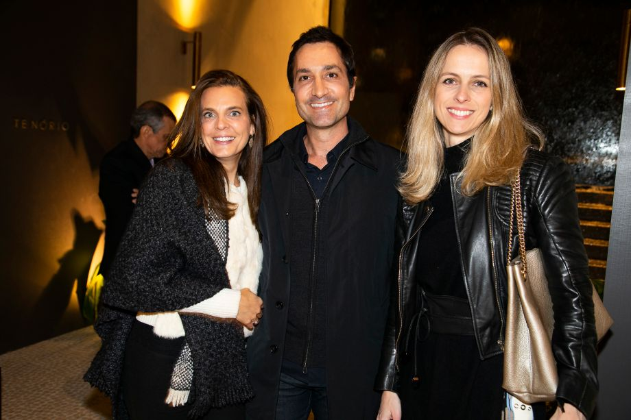 Fernanda Abs, Fred Benedetti e Patricia Martinez