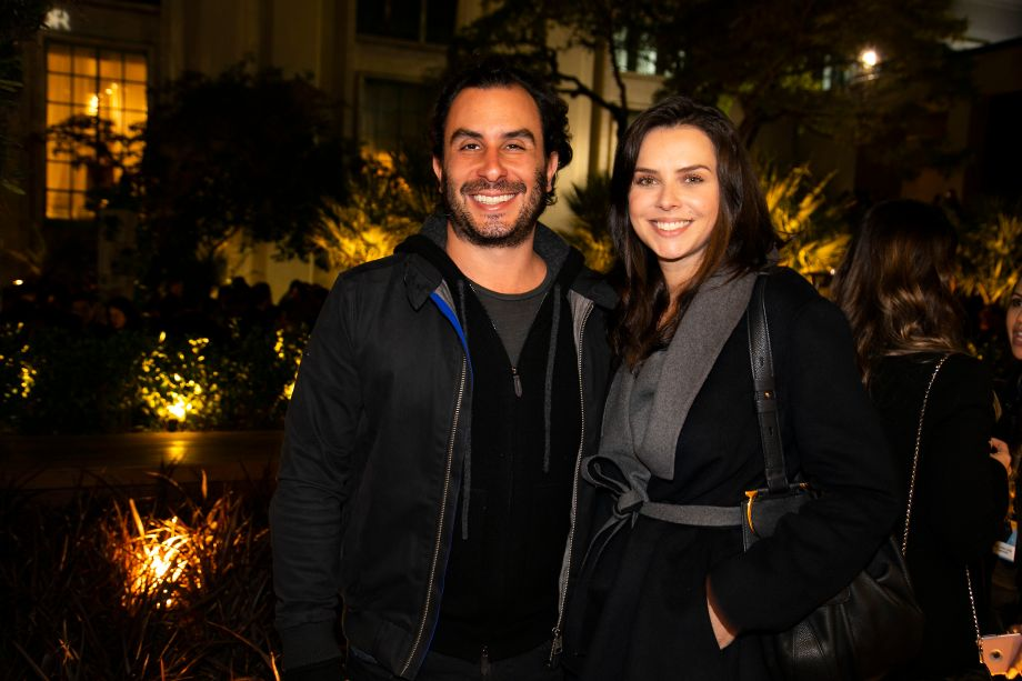 Fernando Forte e Luciana Figaro
