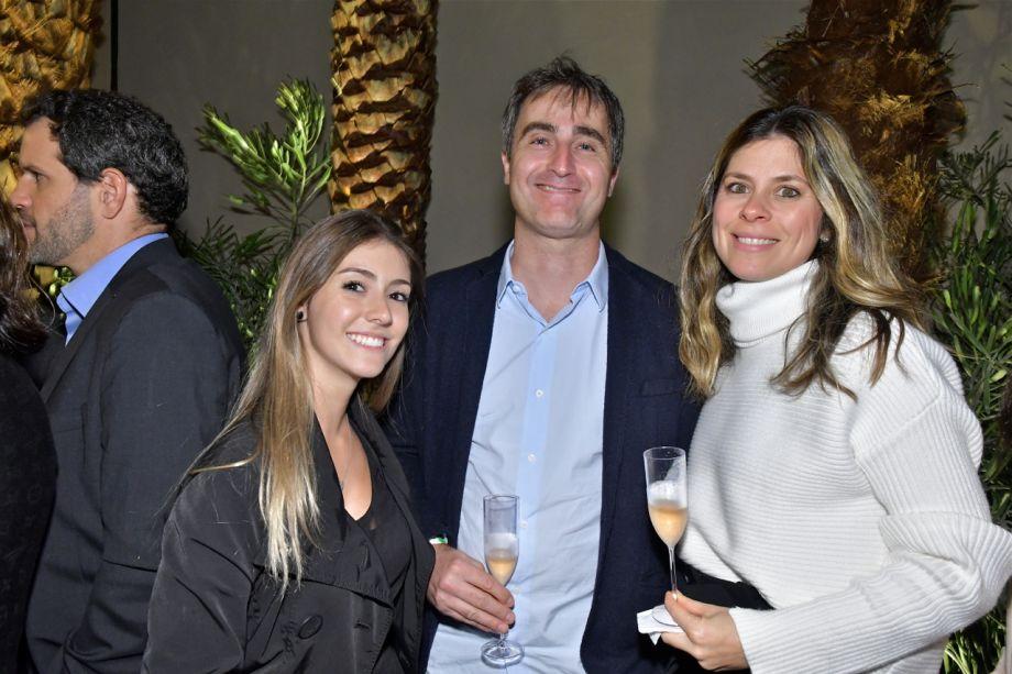 Fernanda Lucchini, Gabriel e Bruna Garbin