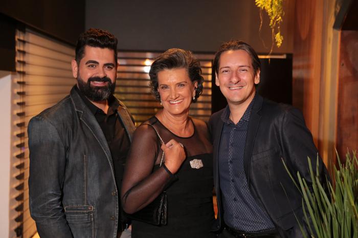 Ricardo Makhoul, Marina Nessi e Alessandro Cavalcanti