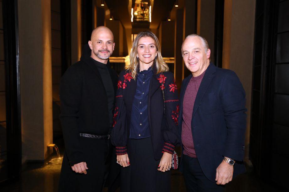 Osvaldo Tenório, Flavia Lucas de Lioma e Raul Penteado