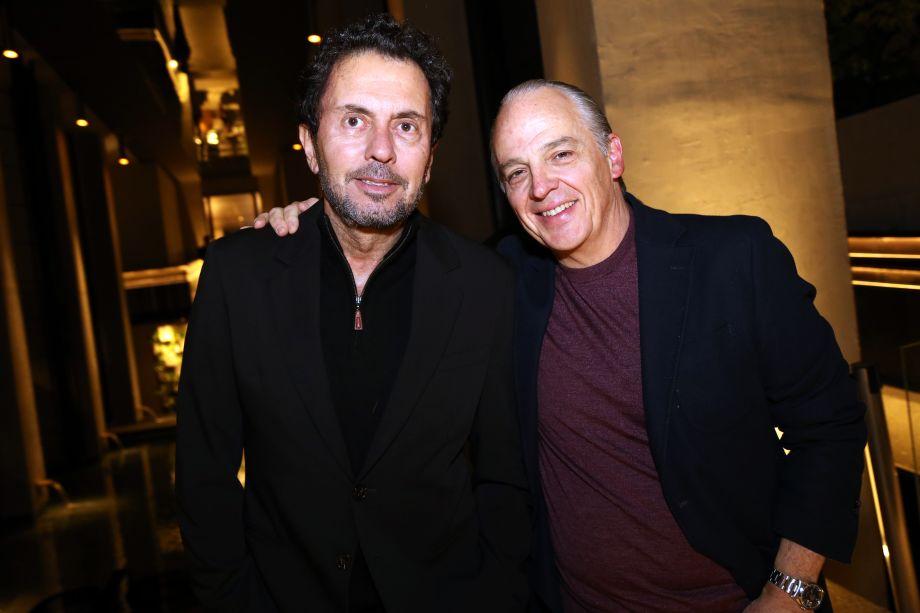 João Armentano e Raul Penteado