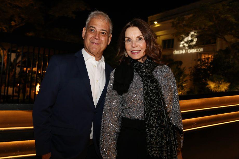 Aurício Nóbrega e Patricia Mayer