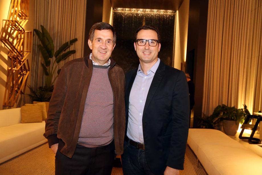 Alfredo Setubal e Bruno Antonaccio