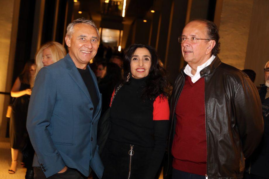 Valeria e Zeco Beraldin e Davi Bastos