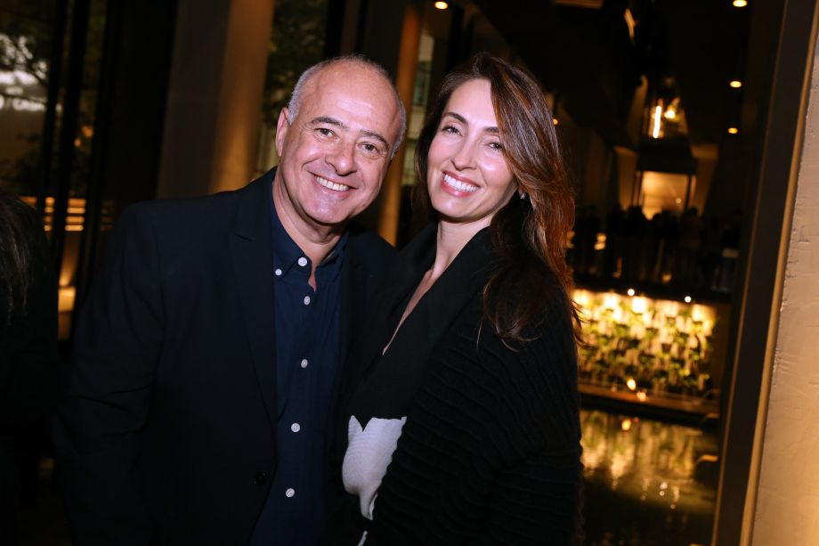 Helio Bork e Patricia Anastassiadis