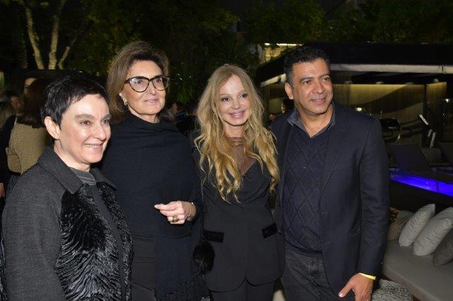 Livia Pedreira, Cris Ferraz, Debora Aguiar e Pedro Ariel