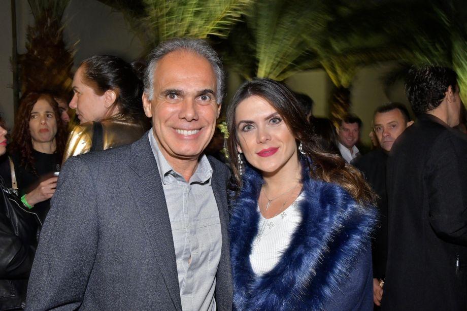 Luiz Carlos Orsini e Juliana Sicoli