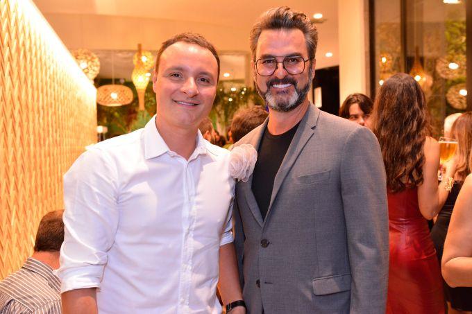 Marcelo Trento e Leo Romano