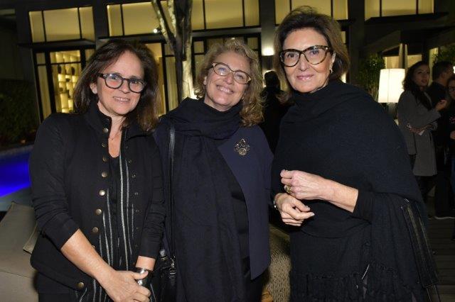 Patrícia Quentel, Eliana Sanches e Cris Ferraz