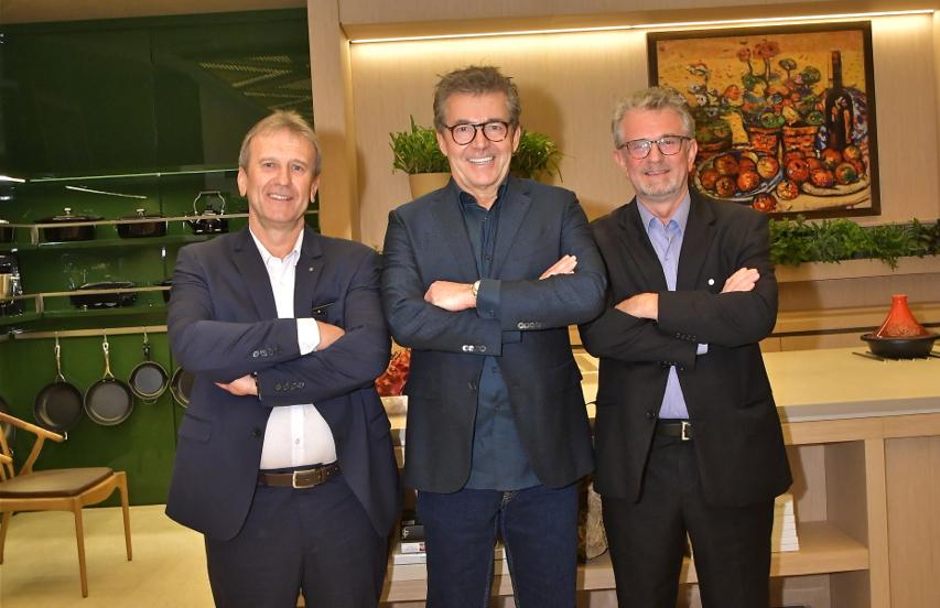Rudimar José Stedile, Roberto Migotto e Rosmar Stedile