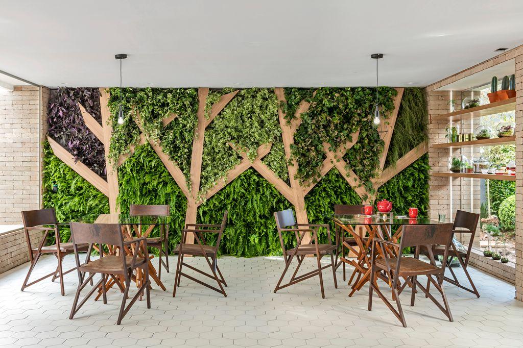 CASACOR SP: terrários e jardim vertical marcam o Tea Lab do SP Arquitetura