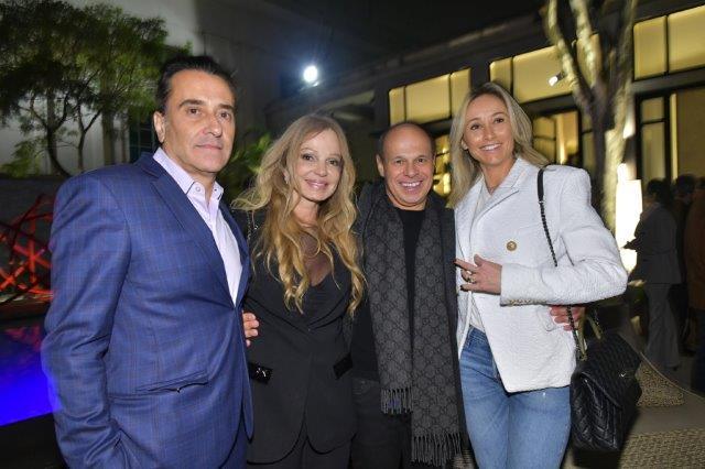 Tadeu Bongiolo, Debora Aguiar, Nilo Cottini e Maria Eduarda Bongiolo
