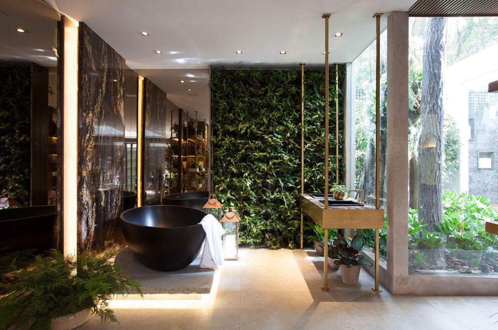 spa da mata jardim de inverno banheiro casacor sao paulo 2018 jardim banheira
