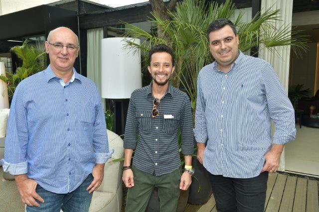 Marcos Gali, Rafael Okubara e Felipe Forato