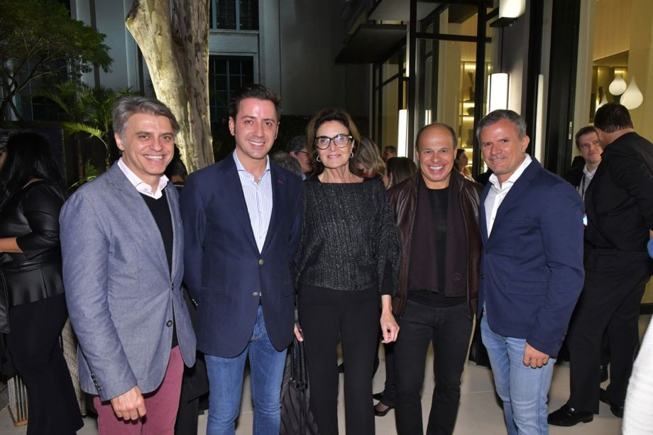 Alex Stevens, Eduardo Cosentino, Cris Ferraz, Nilo Cottini e David Benavent