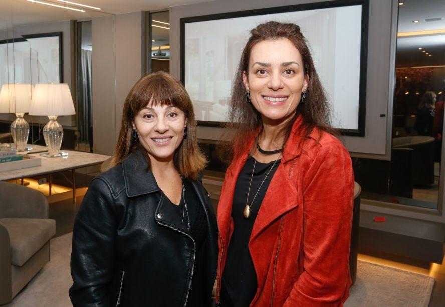Carla Gil Heller e Fernanda Heller