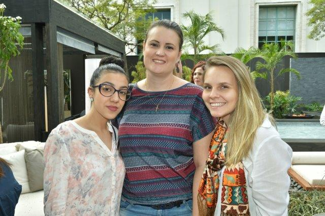 Gabriela Silva, Cassiana Bender e Luciana Bauer