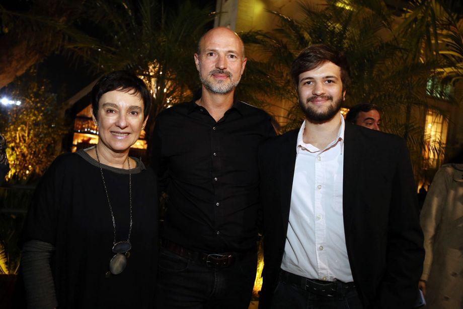 Livia Pedreira, Mathias e Patrick Roth